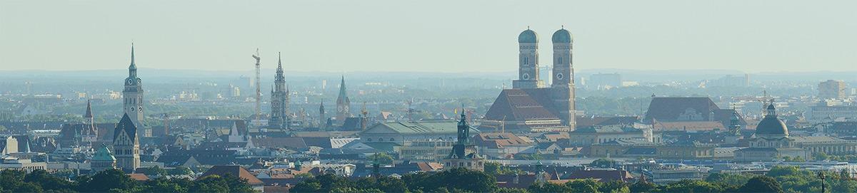Panorama von München - Betriebsarzt München